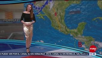 FOTO: El clima, con Mayte Carranco del 20 de mayo de 2019