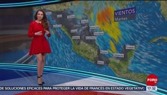 FOTO: El clima con Mayte Carranco del 21 de mayo de 2019