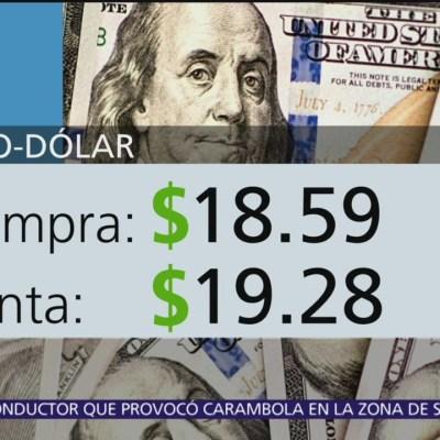 El dólar se vende en $19.28