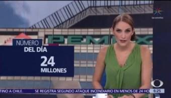 El número del día: 24 millones