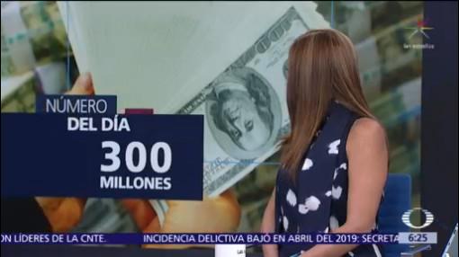 El número del día: 300 millones