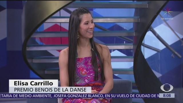 Elisa Carrillo, bailarina mexicana que triunfa en el mundo