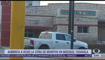 Enfrentamiento en Coahuila deja 8 muertos