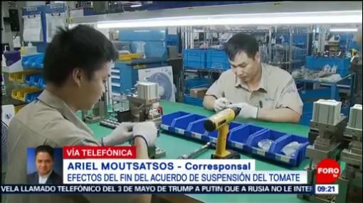 FOTO: Entran en vigor aumento de aranceles a productos chinos por EU, 11 MAYO 2019