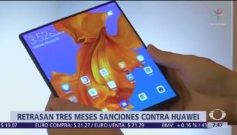 Estados Unidos retrasa las sanciones para Huawei