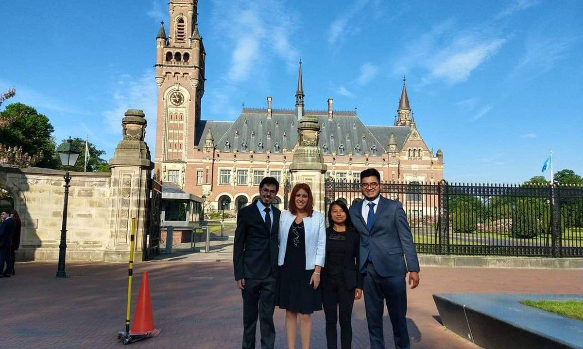 foto Estudiantes, de las aulas de la UNAM a la Corte de La Haya 31 mayo 2019