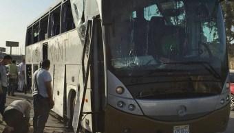 Foto: Explota un artefacto cerca de un autobús turístico; hay varios heridos en Egipto, 19 mayo 2019