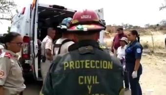 Foto: explosión de pirotecnia en Tlaquepaque, Jalisco, 6 de mayo 2019. Twitter @PCTlaquepaque