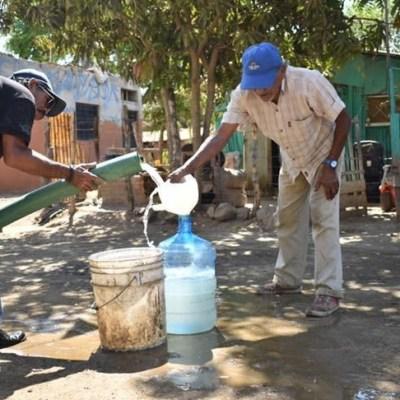 Se quedan sin agua potable más de 75 % de habitantes de Mazatlán