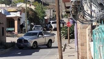 Foto; hallan fosas tras cateos en Ciudad Juárez, 24 de mayo 2019. Twitter @PuenteLibre