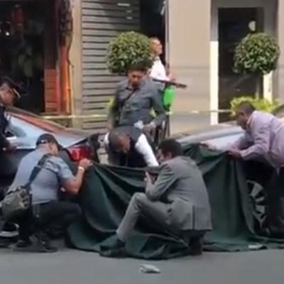 Balacera en Polanco deja un muerto