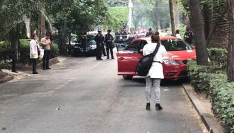 Foto: Dos personas murieron en la calle Campeche, en la colonia Condesa, Ciudad de México. El 14 de mayo de 2019