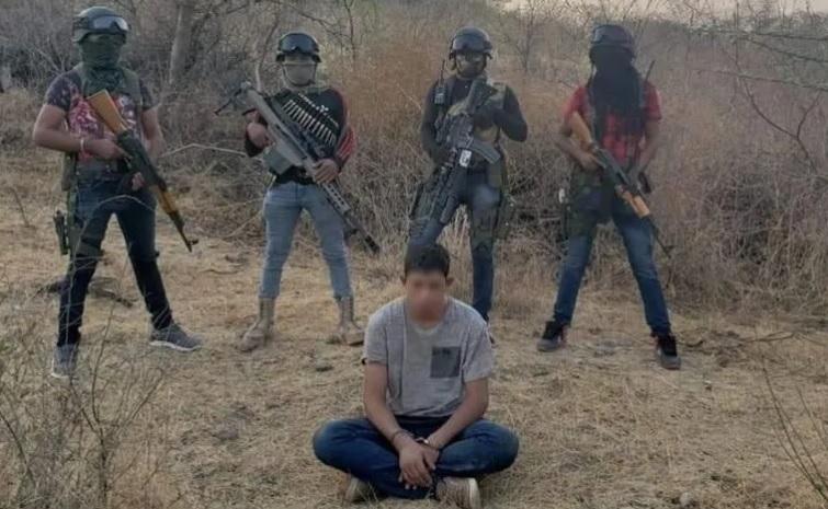 Foto: Grupo armado ejecutó a Cuauhtémoc Salgado Arroyo