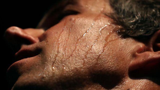 Foto: El rostro de Beto O'Rourke, representante del Senado de Estados Unidos, cubierto de sudor durante un mitin en Houston, Texas. El 5 de noviembre de 2018