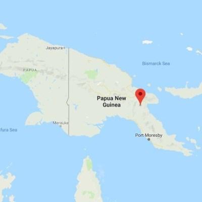 Terremoto de magnitud 7.2 sacude Papúa Nueva Guinea