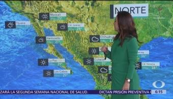 Frente frío 58 provocará lluvias en México