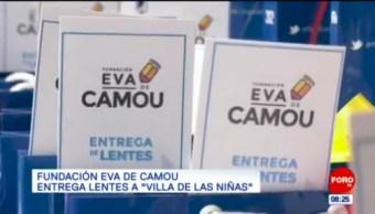 """Fundación Eva de Camou entrega lentes a """"Villa de las Niñas"""""""
