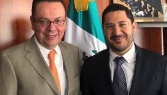 Germán Martínez alista regreso a su lugar como senador de Morena