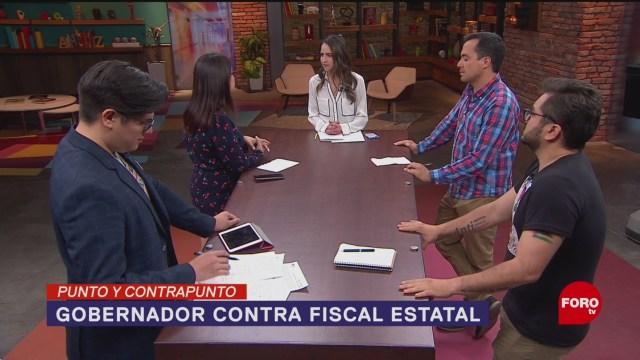 Foto: Gobernador De Veracruz Denuncia Fiscal 8 de Mayo 2019