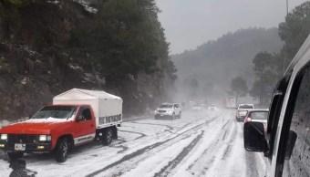 Foto: granizada en Chiapas, 2 de mayo 2019. Twitter @pcivilchiapas