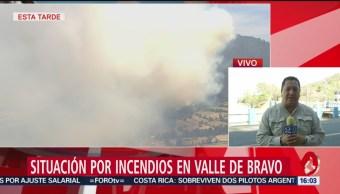 FOTO: Habrá denuncias penales por incendios en Valle de Bravo