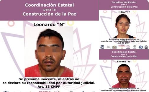 Foto: Presuntos homicidas y secuestradores de Humberto Adame, 17 de mayo 2019. Twitter @Fiscalia_Mor