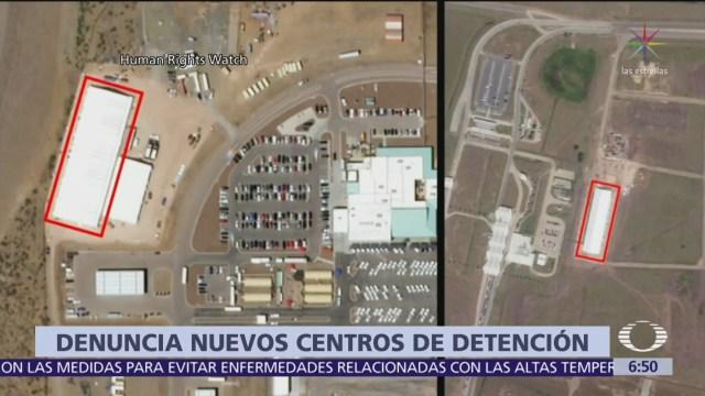 HRW denuncia instalación de nuevos centros de detención para migrantes