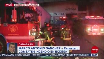 Foto: Incendio Central De Abasto CDMX 31 Mayo 2019