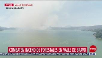 FOTO: Incendios activos en Valle de Bravo