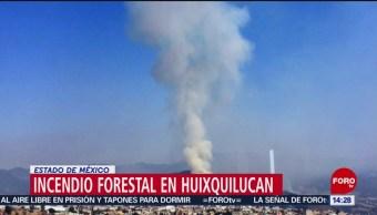 FOTO: Incendios forestales en Huixquilucan y Atizapán, 12 MAYO 2019