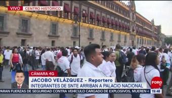 Foto: Integrantes SNTE Reúnen AMLO 22 Mayo 2019