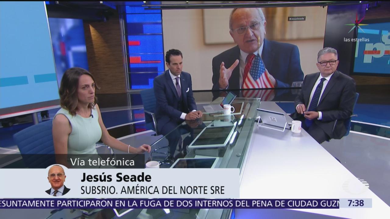 Jesús Seade delinea futuro del T-MEC y aranceles, en Despierta
