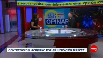 Foto: Adjudicaciones Directas Contratos Gobierno de AMLO 8 de Mayo 2019