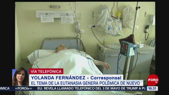 FOTO: La eutanasia genera polémica en España, 11 MAYO 2019