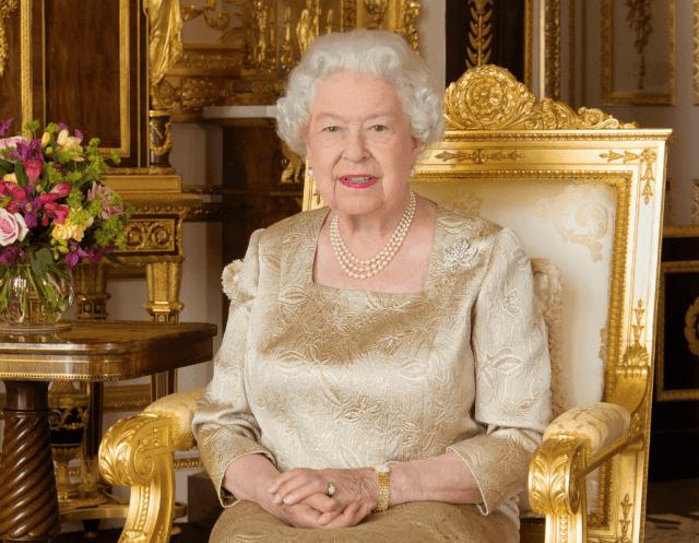 Foto: La reina Isabel II, 1 de julio de 2017, Londres