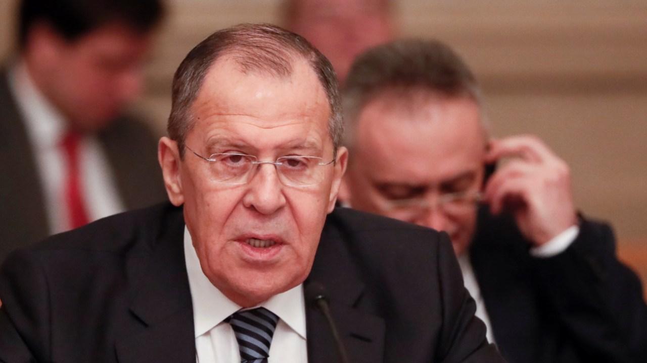 Foto: El ministro de Asuntos Exteriores de Rusia, Sergei Lavrov, mayo 4 de 2019 (Reuters)