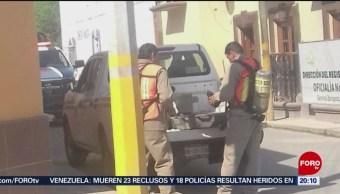 Foto: Cilindro Gas Cloro Robado Nuevo León 24 Mayo 2019