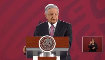 Foto: El presidente de México, Andrés Manuel López Obrador, en Palacio Nacional, 24 de mayo de 2019, Ciudad de México