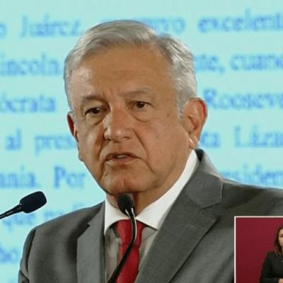AMLO: El pueblo de México no merece el trato que EU quiere aplicar