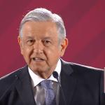 Foto: López Obrador en conferencia de prensa, 14 de mayo de 2019, Ciudad de México