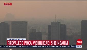 FOTO: Mala calidad del aire persiste en CDMX