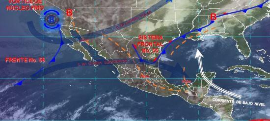 Foto: Imagen de fenómenos meteorológicos significativos de las 06:00 horas, 11 mayo 2019