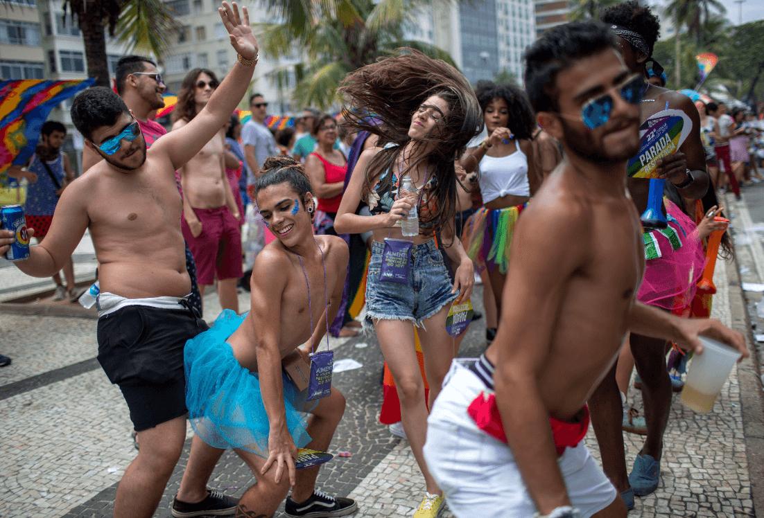 Foto: Marcha gay en Brasil, 19 de noviembre de 2017