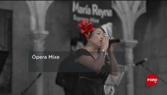 FOTO: Mariana Reyna, la soprano mixe que promueve las raíces de México, 11 MAYO 2019