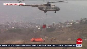 Foto: Marina Combate Incendio El Calvario Guerrero 7 de Mayo 2019