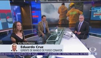 México está en final del periodo crítico de incendios, informa Conafor
