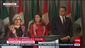 FOTO: México y Canadá revisan temas prioritarios de la relación económica bilateral