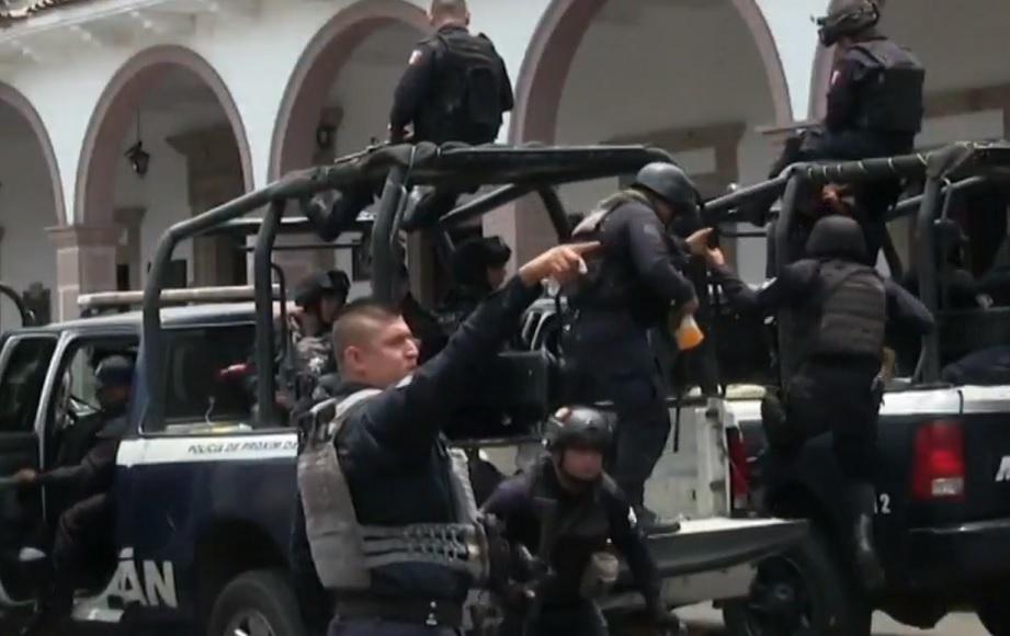 Durazo anuncia despliegue de más de cuatro mil elementos de la Guardia Nacional en Michoacán