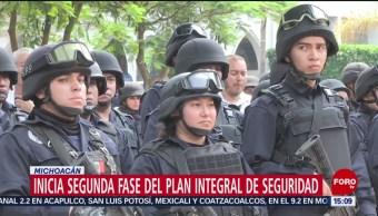 FOTO: Michoacán pone en marcha operativo de seguridad, 28 MAYO 2019