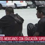 Foto: Migrantes con educación superior buscan futuro en Estados Unidos